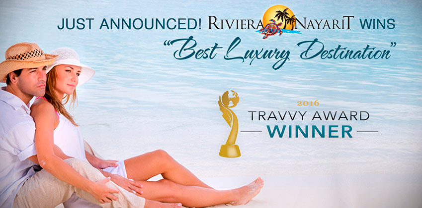 Riviera Nayarit has been condecorated as Best Luxury Destination