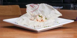 Japanese cuisine - Gorgonzola Srhimps