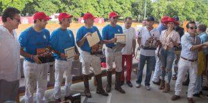 Ganadores del torneo de polo