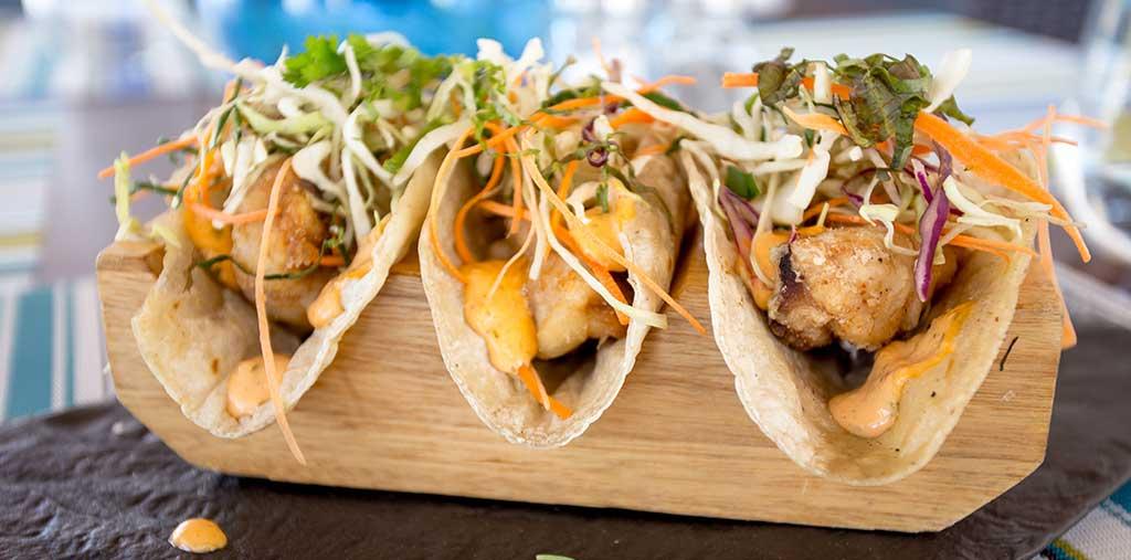 Tacos en MozzaMare
