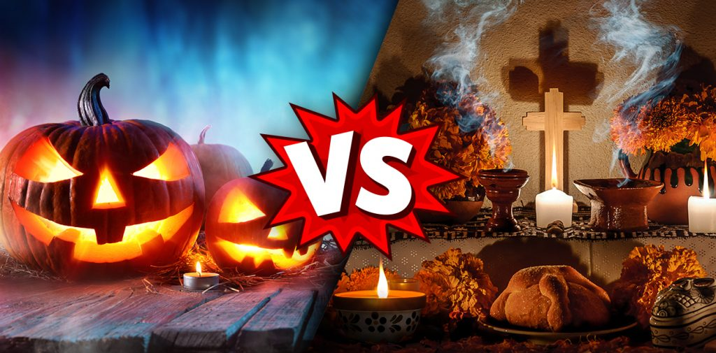 Halloween vs Day of the Dead