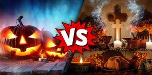 Halloween vs Día de Muertos
