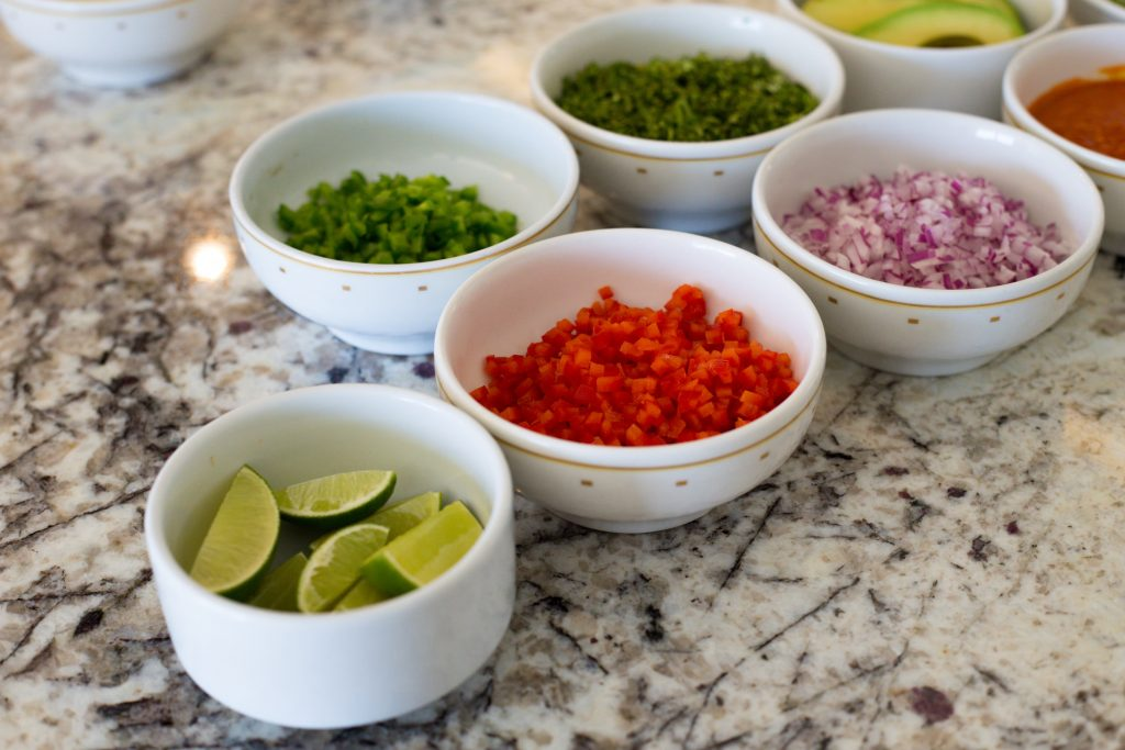 Ingredientes ceviche