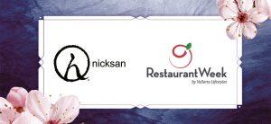 Nicksan Restaurant Week